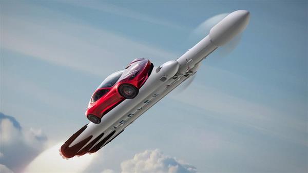 特斯拉跑车飞入太空 科学家:不到一年就会解体