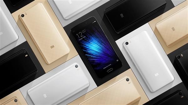 小米5发布时,搭载的仅仅是基于Android 6.0的MIUI 7系统