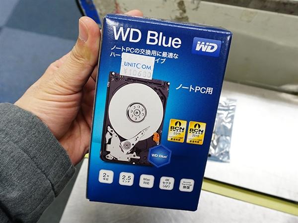 630元真便宜!西数7毫米超薄2TB硬盘开卖
