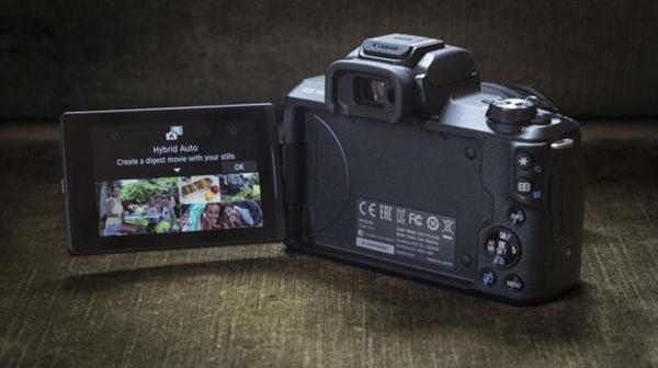 首款支持4K拍摄:佳能微单EOS M50正式发布