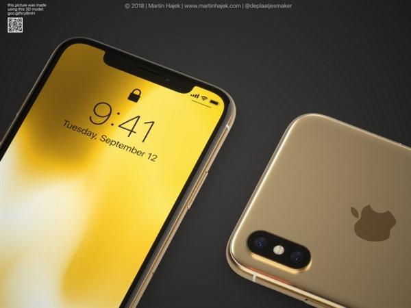iPhone X Plus配备的是6.5英寸OLED屏,提供人脸识别功能