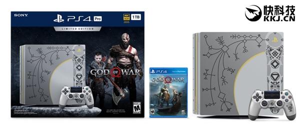 索尼宣布战神同捆款PS4 Pro