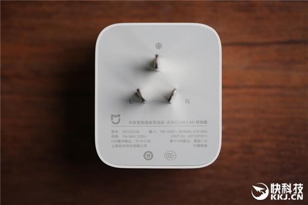 79元!米家智能插座增强版开箱图赏:双USB接口