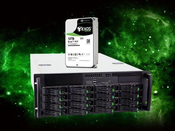 腾讯云率先上希捷12TB硬盘:最轻 最省电