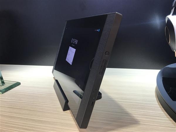 安桥展示12.5寸4K平板:就是个迷你小电视