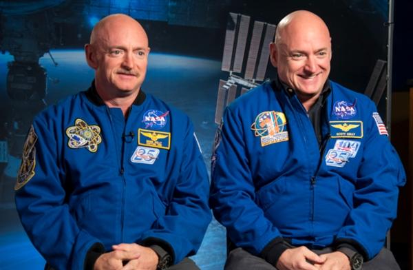 美国宇航员发现他与双胞胎兄弟的DNA不同