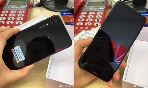 华为P20 Lite提前曝光 配置Notch屏和徕卡相机