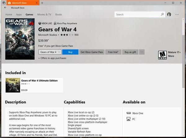 Win10独占《战争机器4》被正式破解:完整游戏随便玩