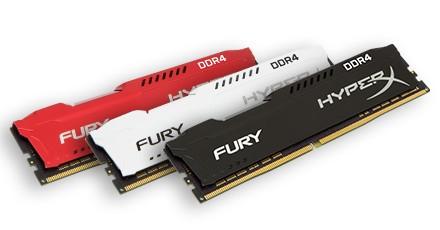 金士顿DDR4骇客神条新升级:频率最高3466MHz