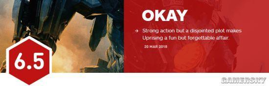 《环承平洋2》口碑解禁:IGN 6.5分 烂番茄新颖度65%