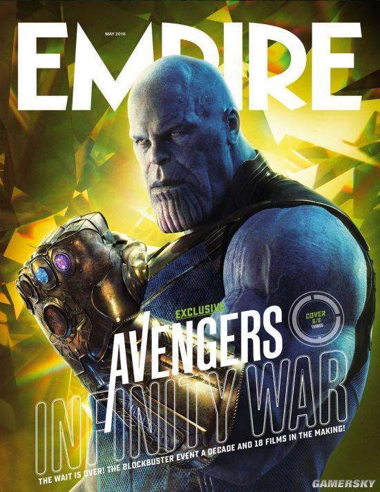 《复仇者同盟3》发布高清宣扬图 灭霸横扫众英雄