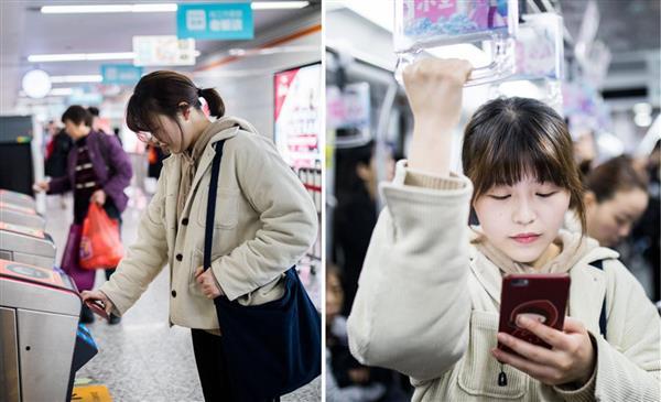 日本人发明二维码却火于中国 95后女孩靠扫码过一天