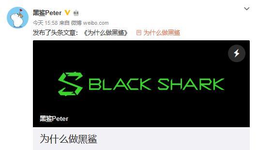 黑鲨吴世敏:用自己的努力为中国玩家做点事情