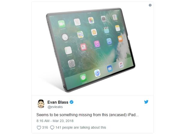 这是苹果新iPad Pro?外形让苹果都捏把汗