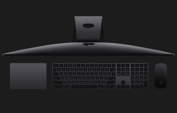 苹果突送惊喜:iMac Pro标配灰色键鼠开卖