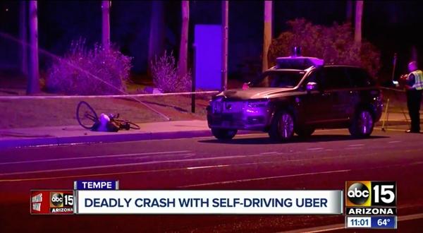 无人驾驶汽车撞死人:NVIDIA全球暂停测试