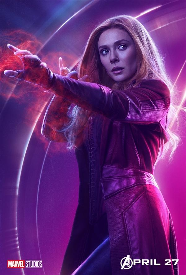 《复仇者联盟3》超酷角色海报 美队性感寡姐妩媚