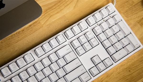 ikbc超静音G-108机械键盘图赏:配Mac颜值担当