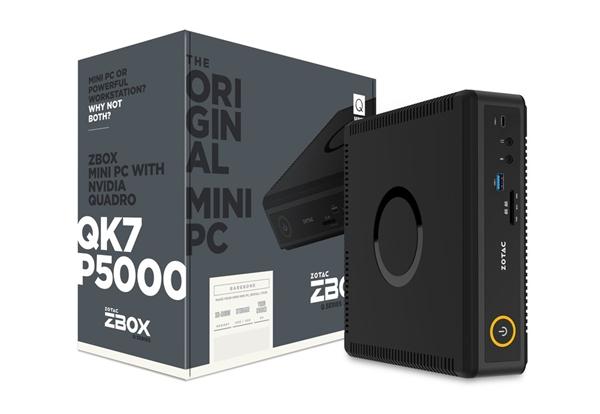 索泰发布史上最强迷你工作站ZBOX Q:GTX1080同款专业卡