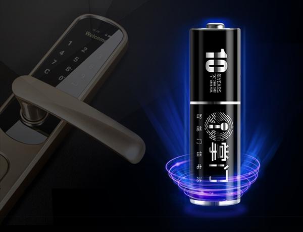 10年不漏液!南孚推出全球首款智能门锁电池