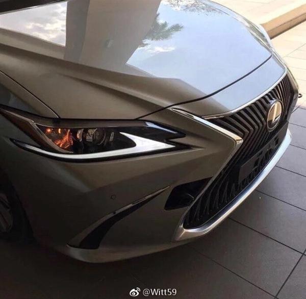 前脸帅爆!新雷克萨斯ES官方预告图:北京车展全球首发