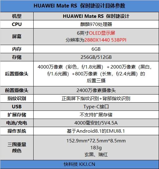 满分安卓旗舰!新一代机皇HUAWEI Mate RS 保时捷设计首发评测