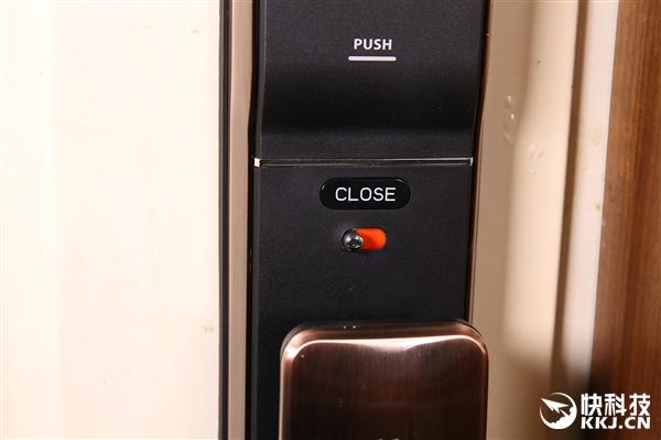 锤子优点E1智能门锁开箱图赏:0.96寸触摸面板
