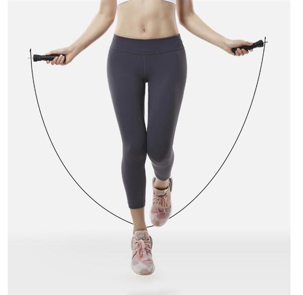 有品上架云麦运动跳绳:一体式轴承/双钢丝绳