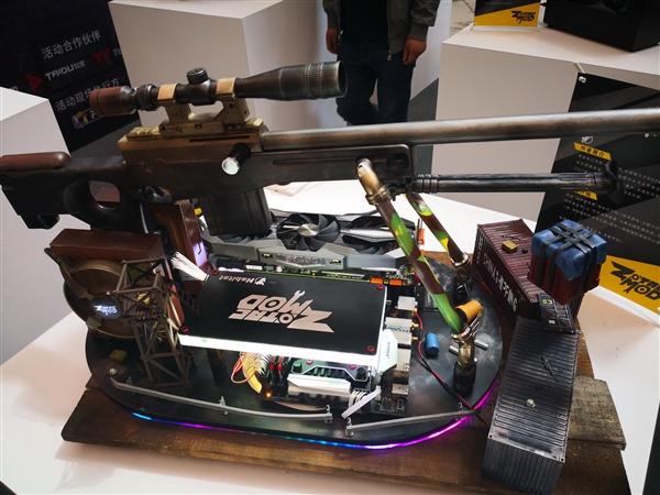 冰冷电脑变艺术品:索泰ZMOD大师创意作品展
