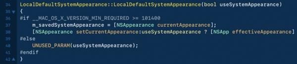 苹果macOS 10.14细节曝光:要支持真正深色模式