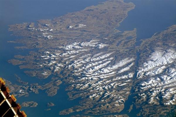 NASA拍下令人惊叹的苏格兰高地全景图