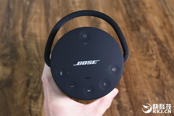 BOSE SoundLink Revolve+音箱图赏:提手抢眼