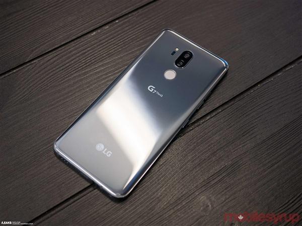 19.5:9刘海屏+双面玻璃!LG G7 ThinQ图赏