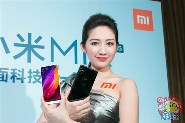 小米MIX 2S在台湾发布:3600元