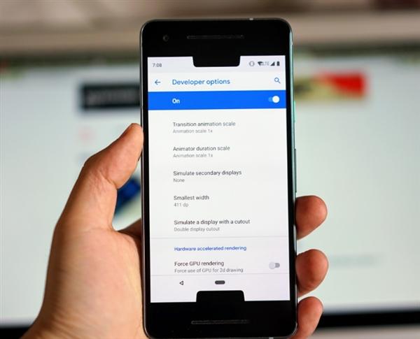 Android P深度优化刘海屏:这效果太魔性