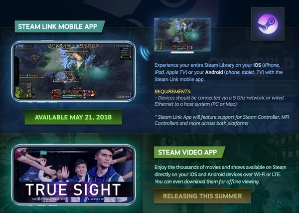 Steam Link发表发出产顶持Android/iOS:PC游玩壹秒搬上顺手机玩