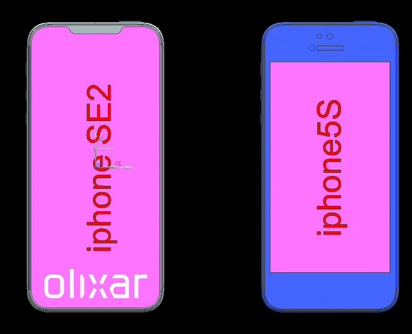 iPhone SE二代曝光:这名称、设计图很有惊喜!