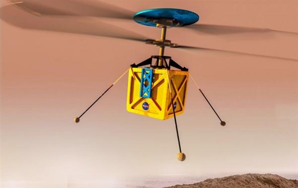 NASA宣布:2020年在火星上启用无人直升机