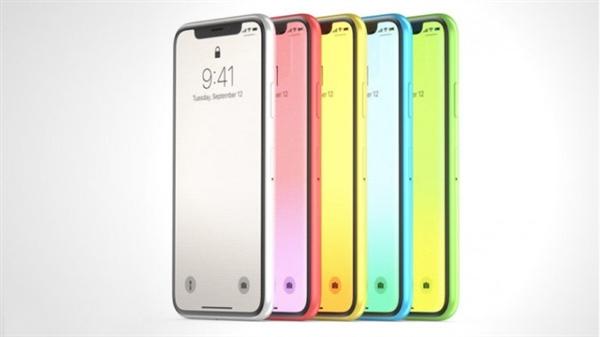 廉价版iPhone X曝光:将有多个颜色可选 很有爱