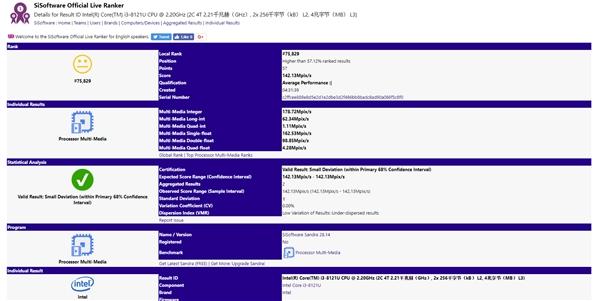 Intel首颗10nm处理器!i3-8121U性能分析:惊喜不大