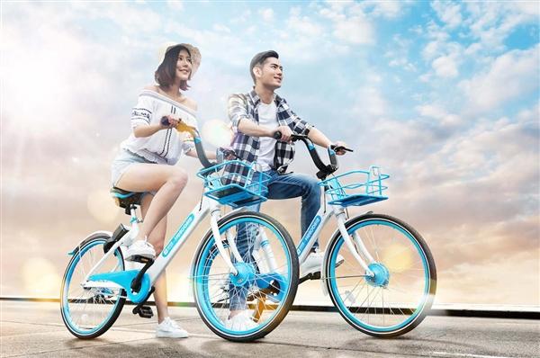 哈罗单车送超级福利:免费骑100天!