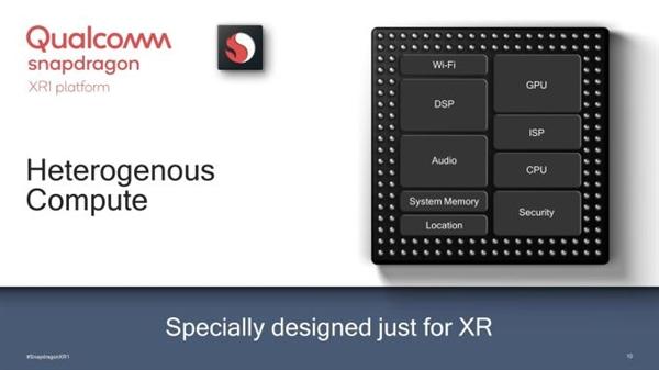 面向VR/AR一体机!高通发布骁龙XR1芯片:支持4K视频