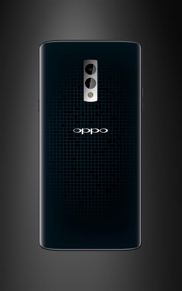 OPPO Find X外形渲染图曝光:呼吸灯真亮眼