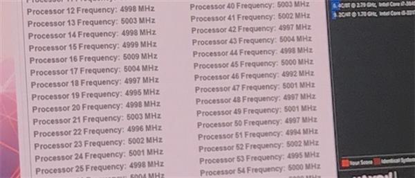 Intel怒飚5GHz 28核心!竟用上1770W压缩机