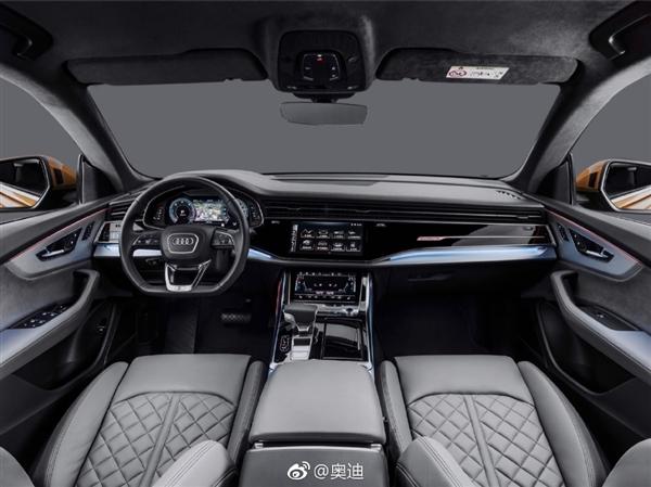 家族首款!奥迪Q8旗舰轿跑SUV正式发布:前脸科幻
