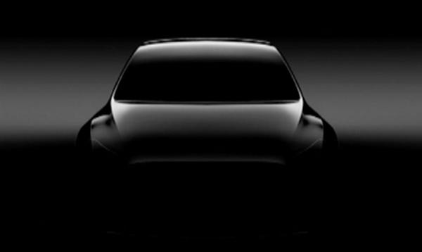 特斯拉入门级SUV Model Y预告图:将配鸥翼门