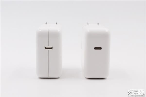 苹果30/29W新旧USB-C充电器对比评测:最高20V1.5A