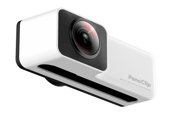 PanoClip发布智能手机专用360°外接式全景相机