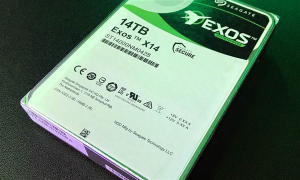 8碟充氦!细希捷14TB机械硬盘年末推向消费级市场