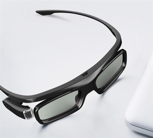小米有品首发峰米快门式3D眼镜:120Hz刷新无残影